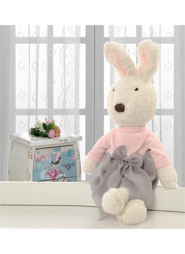 Sole İthal 1. Kalite Peluş Sevimli Tavşan Arkadaşım 45 cm Lacivert